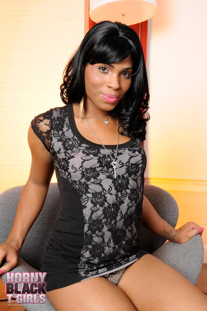 Ebony Sweetie Myla West Posing Her Titillating Body