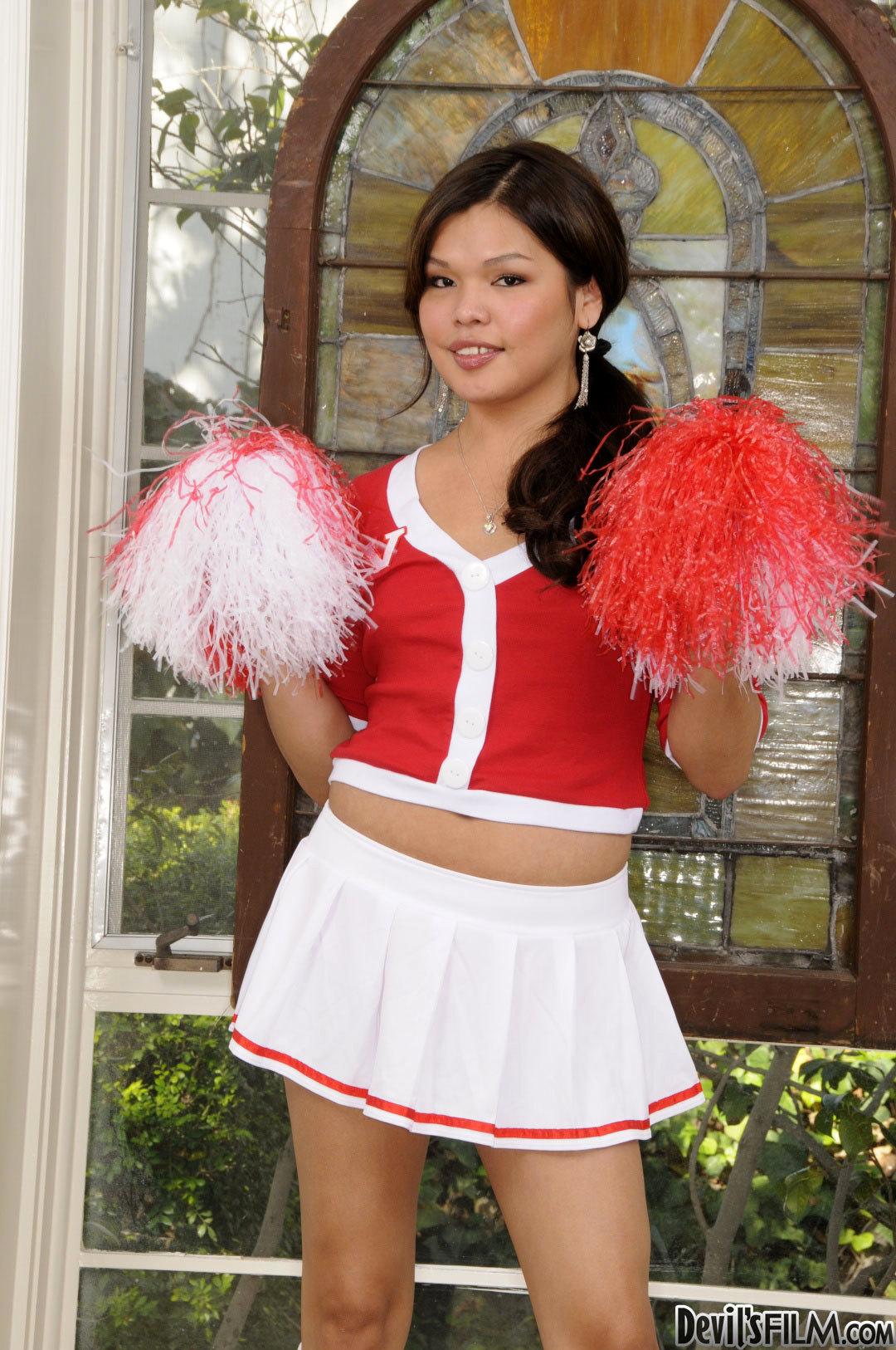 Horny Cheerleader